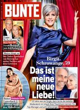BUNTE Cover