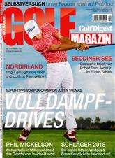 Golf Magazin Cover