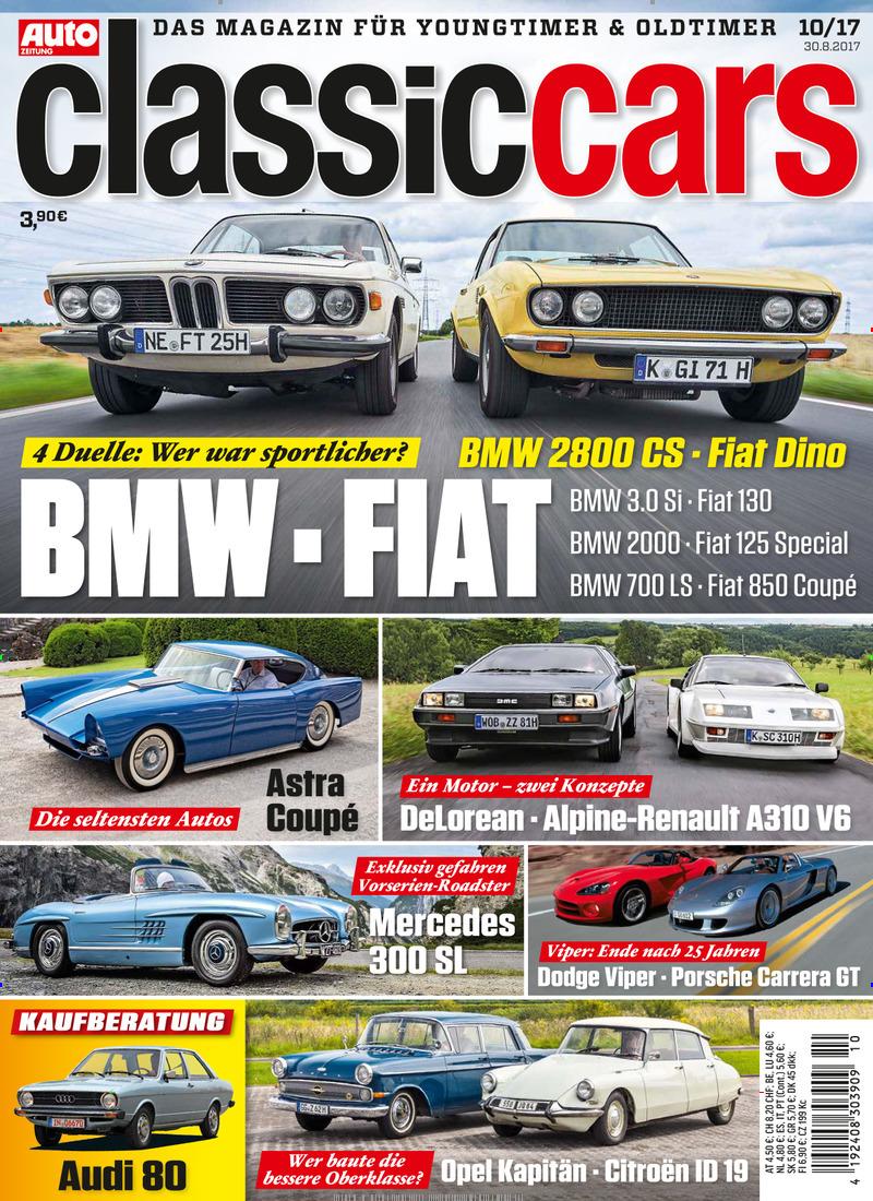 Classic Cars Auto Zeitung Abo Classic Cars Auto Zeitung