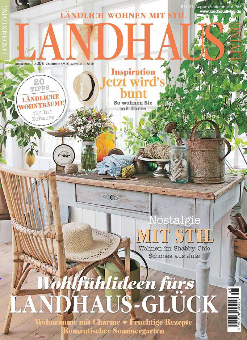 landhaus living abo landhaus living probe abo landhaus living geschenkabo bei presseshop. Black Bedroom Furniture Sets. Home Design Ideas