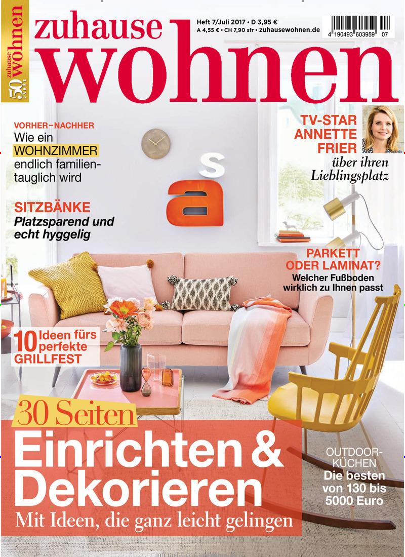 zuhause wohnen abo zuhause wohnen probe abo zuhause wohnen geschenkabo bei presseshop. Black Bedroom Furniture Sets. Home Design Ideas